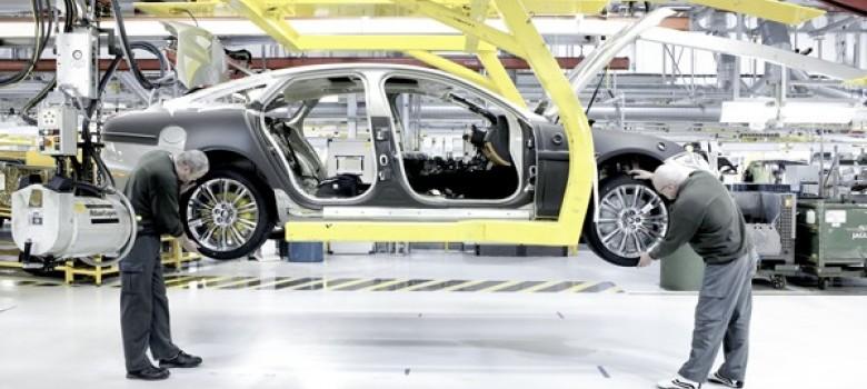 Jaguar fabrieksbezoek